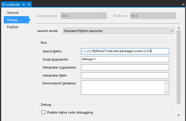 SCons builds with Visual Studio - The Grbd Blog